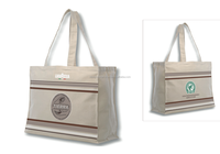 100% Cotton Canvas Shopping Bag