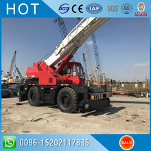 Red Japanese TADANO Rough Terrain Crane 30 ton TR300E