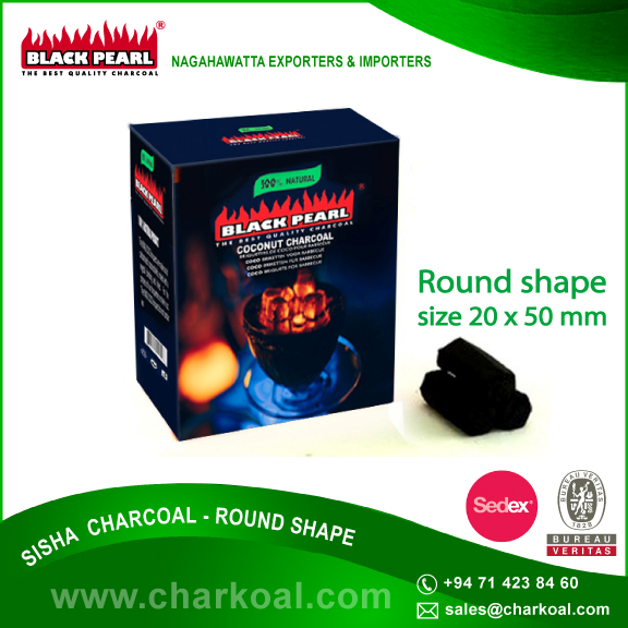 Premium Grade Coconut Charcoal Hookah in New Packing Bag
