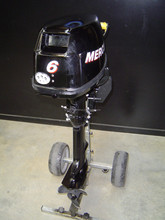 Free Shipping For Used Mercury 6 HP Four Stroke Outboard Engine