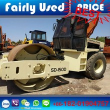 USA Ingersoll Rand SD150D , Manual ground Ingersoll Rand road roller for sale