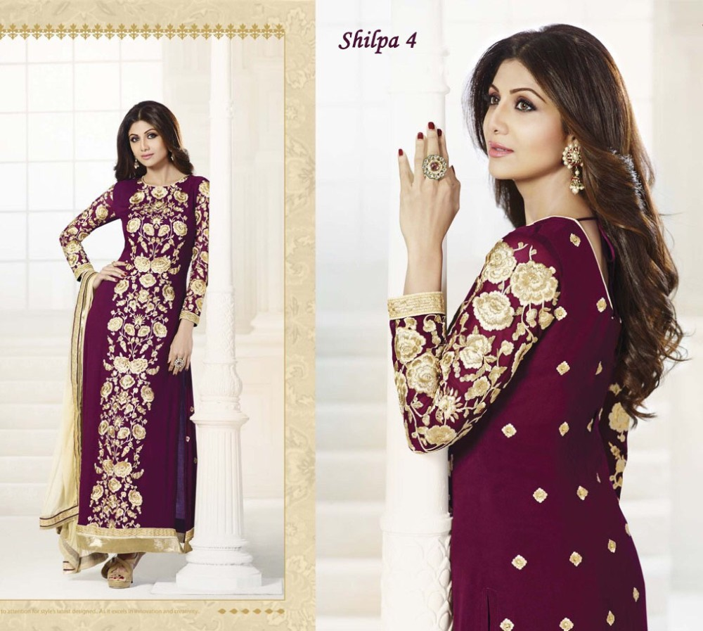 Bollywood ladies salwar kameez suit neck designs for stitching for wholesale
