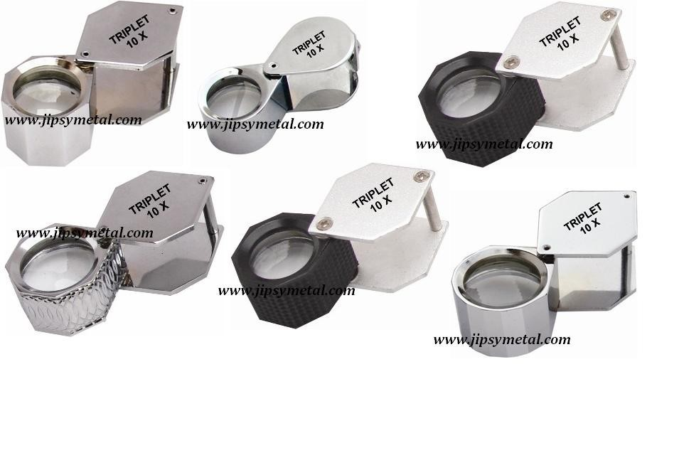 Jewelry eye loupe With Rubber Grip/ jewelry tools