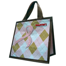 Eco-friendly bag, shopping bag PP woven OPP laminated full color printing, PP non woven bag