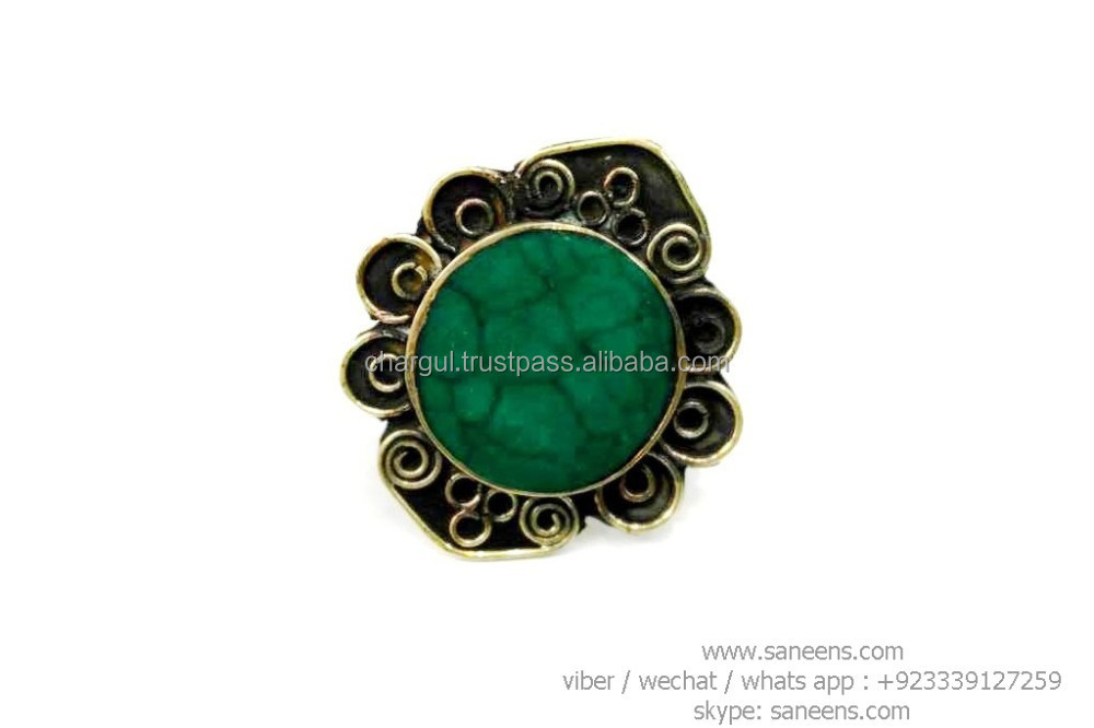 traditional afghanistan kuchi bridal rings bellydance tribal rings online