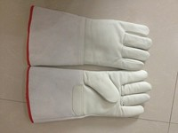 Cryogenic Gloves Water proof LN2 Protective Gloves Liquid Nitrogen 13.8 inch