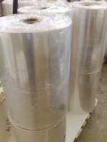 Packaging plastic film