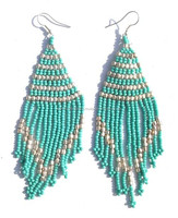 Seed Beaded Earrings Fashion Costume Imitation Artificial Handmade Indian handicrafts Jewellery