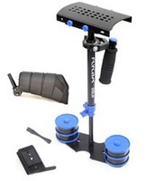 FLYCAM DSLR Nano Blue Steady Cam Stabilizer with Arm Brace and COMPLIMENTARY Quick Release Supporting Cameras weighing upto 1.5k