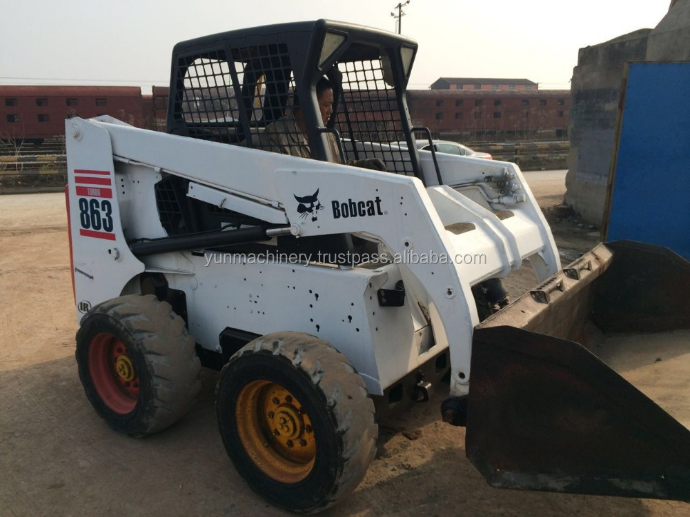 Used Skid Steer Loader 863 Used Bobcat USA Original for Sale