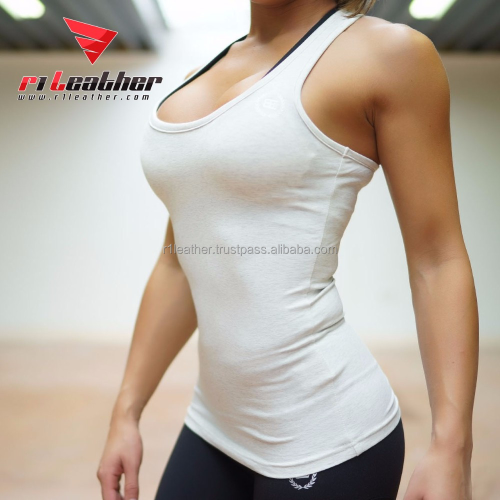 wholesale custom stringer tank top latest design screen printing tank top women