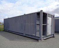 11' (3350mm)W x 10' (3048mm)H x 38' (11582mm)L Steel / Modular/ Container / Building