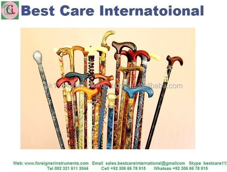 Fashion Walking Sticks Wooden Canes