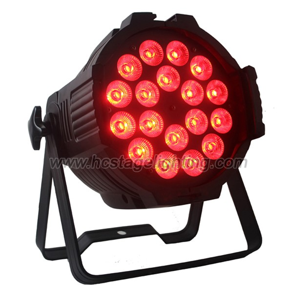 Super brightness 18X10w led dmx par mini or led par light 4in1
