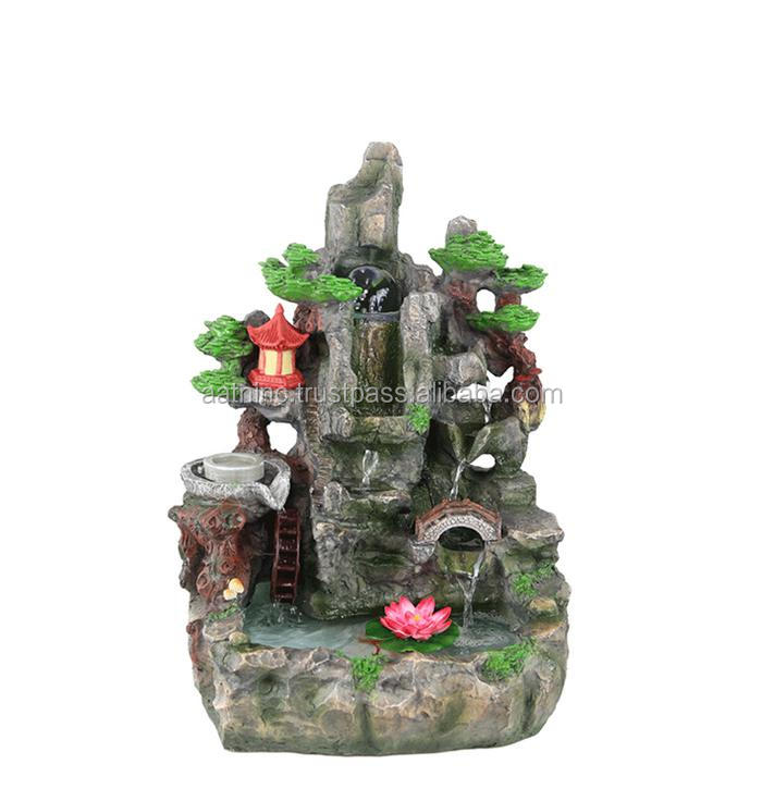 High quality resin water fountain crafts