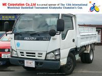 Popular and Reasonable 2 ton dump truck with Good Condition ELF 2005 made in Japan