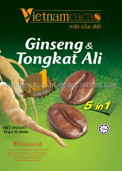 Premix Instant Coffee with Tongkat Ali and Ginseng