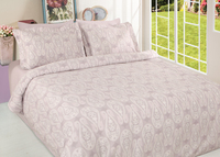 CASABLANCA COTTON SATIN QUILT COVER SET OF 6 PCS