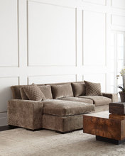 American Living Room Style Fabric Material Sectional Sofa Set Home Use