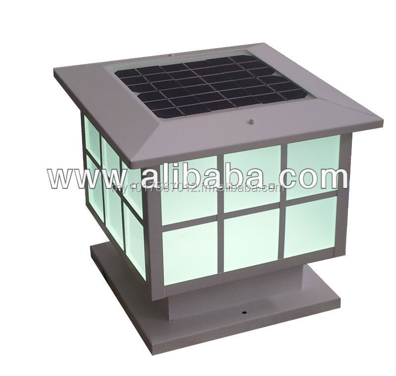 Solar gate / pillar lamp