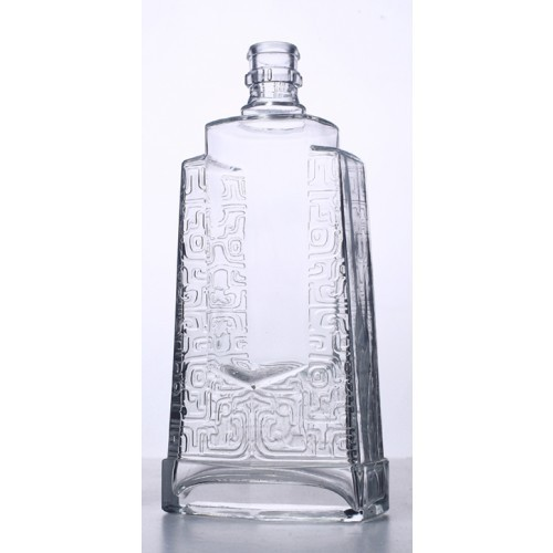 500ml glass bottle for wine