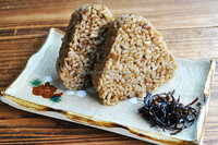 Organic Germinated Brown Rice Ball (with dried bonito flakes) 90gx2