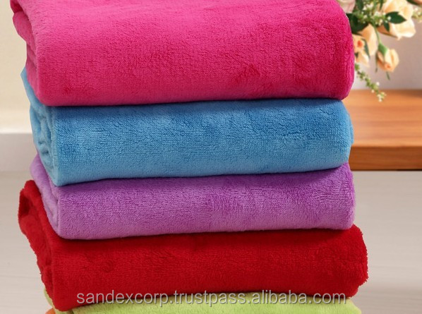 2012 Super soft polar fleece TV blanket made in china