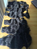 Nonprocessed virgin Cambodian 7A human hair for human hair extensions