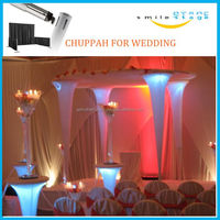 telescopic pipes and drapes indoor luxury wedding tents