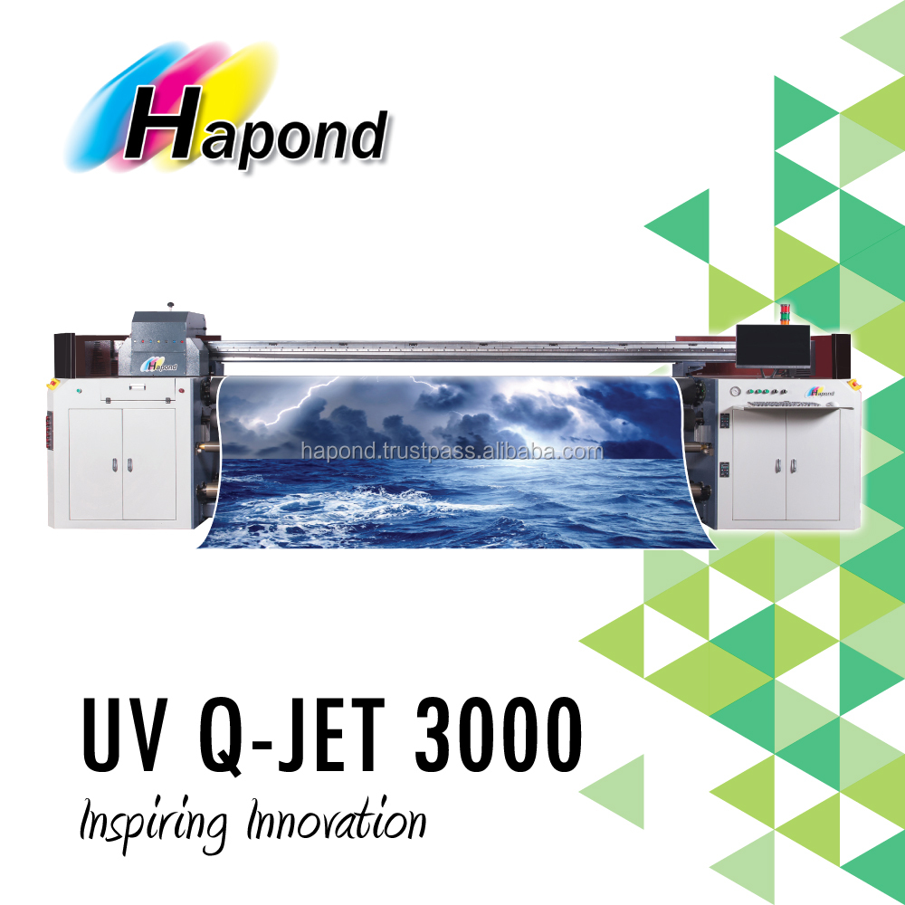 UV 3.2m Inkjet Printer - UV Q-JET 3000