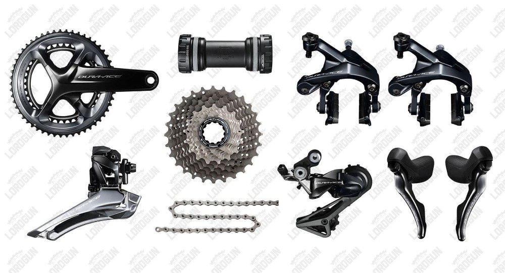 Authentic Dura Ace 9100 11S groupset 2017