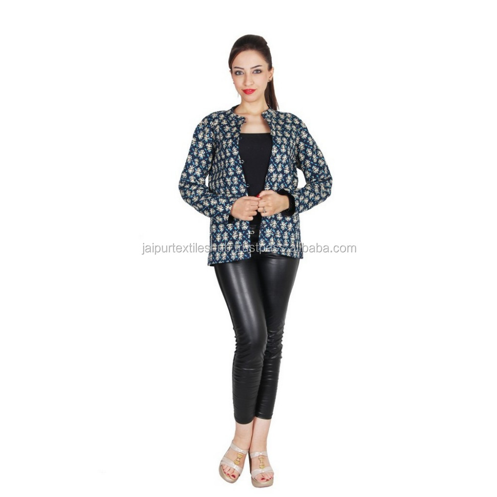 High Fashion real For women Vintage Cotton Jackets