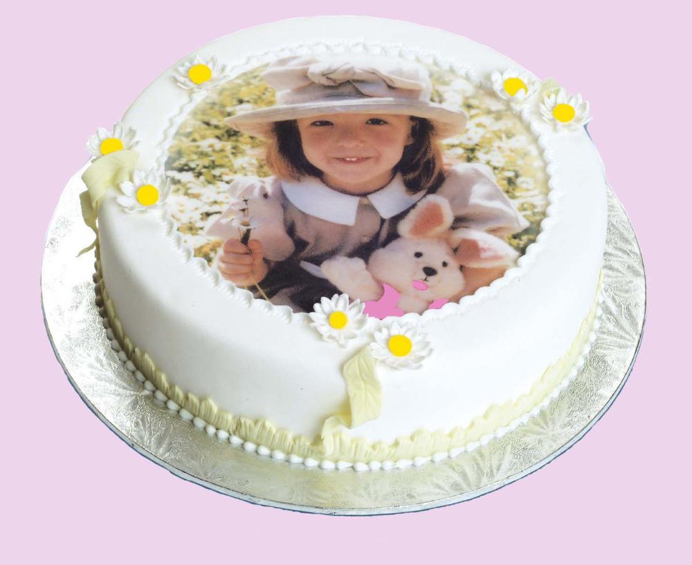 Вафельные украшения на торт фото