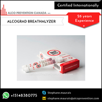 NEW ALCOGRAD Disposable Breathalyzer Breathalyzer Tester