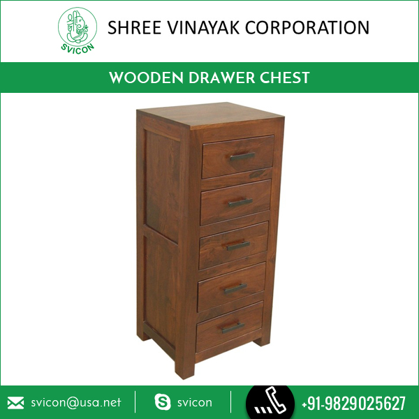 New Design Decorative Wooden Drawer Chest Furniture from Top Selling Brand