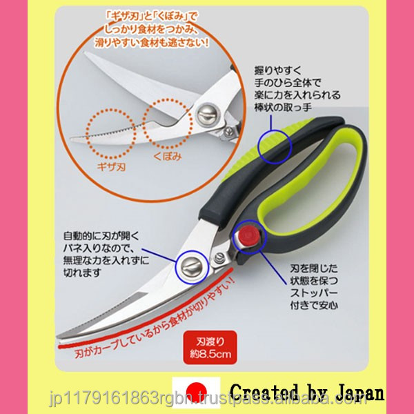 Powerful and Cost-effective mini food chopper with large soft grip created by Japan