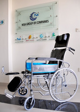 Rehabilitation therapy products,commode wheel chair for disabled people