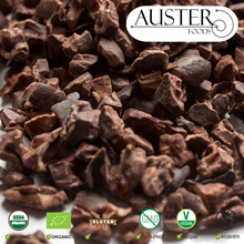 USDA Organic Cacao Nibs in 15 kg boxes exported from the USA