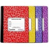 100 SHEET PREMIUM QUALITY COLOR COVER COMPOSITION NOTEBOOK - WIDE RULE #UC1923
