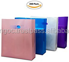 100% Virgin LDPE customized patch handle bag