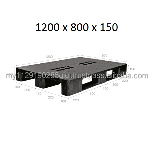 Malaysia Manufacture Cargo Pallet - 1200 x 800 x 150