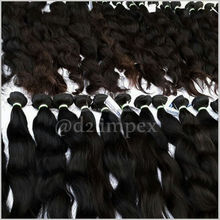 best selling home products india !!! original human hair for braiding 100 percent d2 impex hair