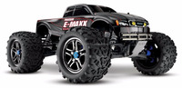 Traxxas 39087-3 E-Maxx 1/10 Scale 4WD Brushless RTR Monster Truck with TQi, TSM, Batteries & Charger