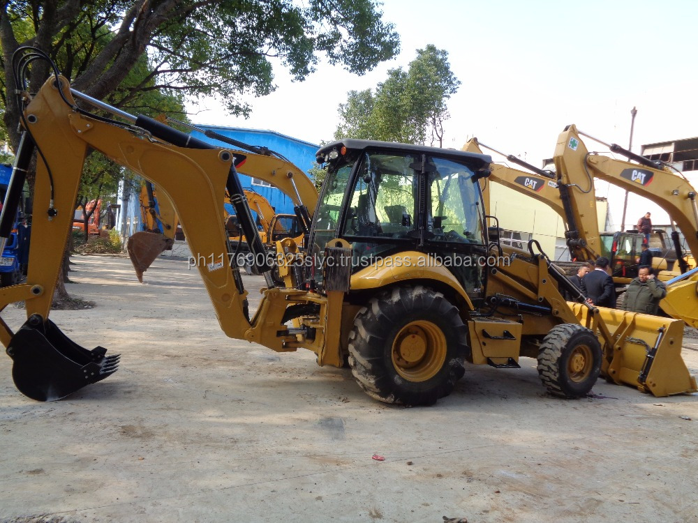 Caterpillar 420F-2 backhoe loader for sale, Japan original 420f2 in Shanghai, cheap 420f CAT
