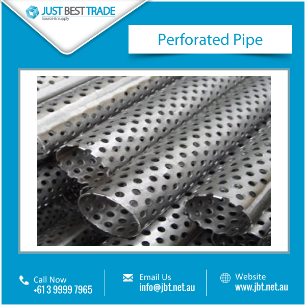 Perfect Finish Perforated Stainless Steel Pipe from Top Ranked Manufacturer