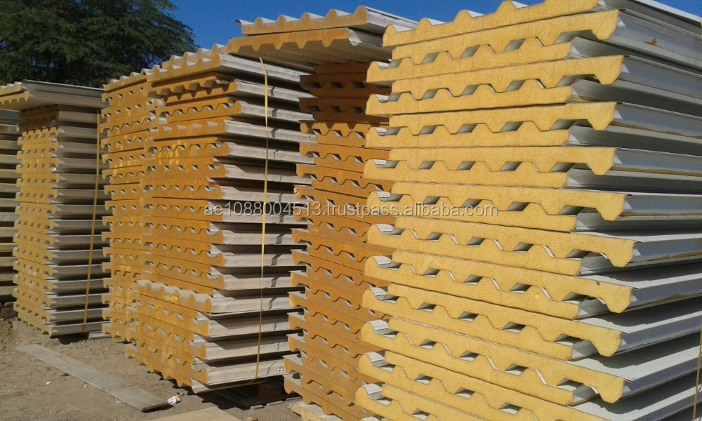 Roofing and wall sandwich panels + 971 56 5478106