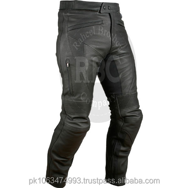 100% Real Motorbike Leather Pants, Leather Trousers motorcycle