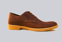 Host genuine cow leather men's shoe