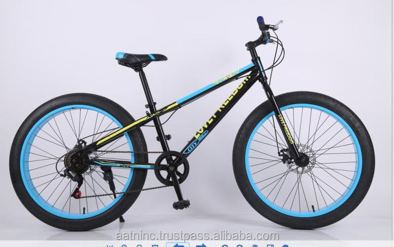 4 color 24-26inch fat tire variable speed mountain bike bicycle