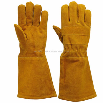 Cow Split Leather Welding Weld Welder hand Gloves